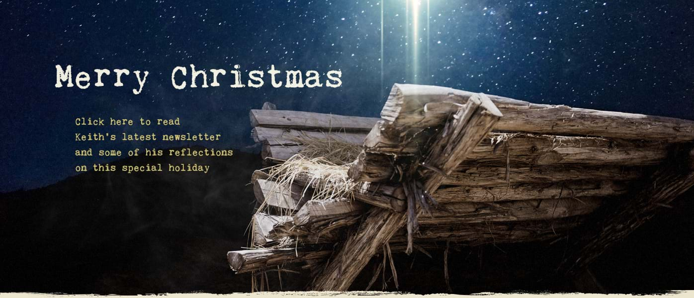Merry Christmas from Keith Wheeler Ministries